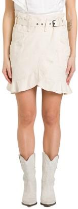 Etoile Isabel Marant Ruffled Asymmetric Skirt