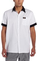 Dickies Men's Plus-Size Pearl Button Cook Shirt