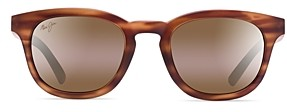 Maui Jim Women's Koko Head Polarized Mirrored Round Sunglasses, 48mm