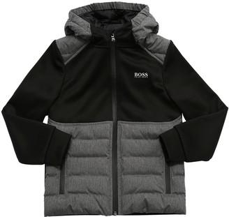 HUGO BOSS Light Padded Triacetate Jacket