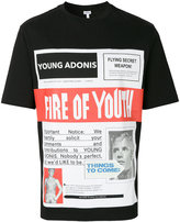 Loewe fire of youth poster T-shirt - men - Cotton - XS