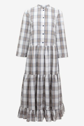 Baum und Pferdgarten Alexine Check Dress - XS. | organic cotton