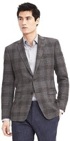 Banana Republic Standard Grey Glen Plaid Sport Coat