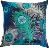 Matthew Williamson Blue Plumas Cushion
