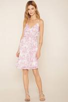 Forever 21 FOREVER 21+ Contemporary Floral Wrap Dress