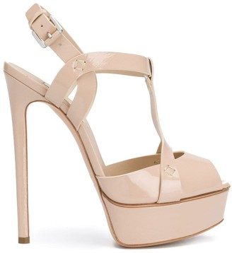 Casadei Flora platform sandals