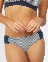 Fat Face Breton Ruched Bikini Bottoms