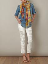 Lily & Lionel Wanda ikat-print scarf