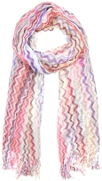 Missoni Viscose and Cotton Zig Zag Stole