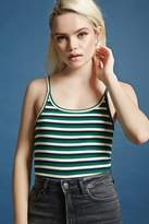 Forever 21 Striped Semi-Cropped Cami