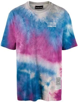 Mauna Kea tie-dye print short sleeve T-shirt
