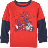 Andy & Evan Moto Cowboy Graphic T-Shirt, Size 3-24 Months