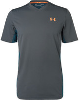 Under Armour Threadborne Center Court T-shirt - Gray