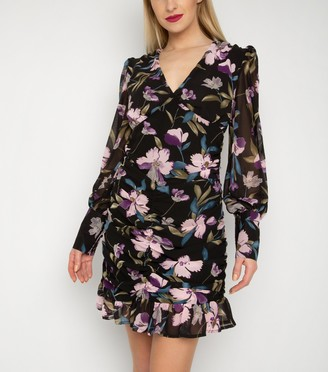 New Look Gini London Floral Ruched Dress