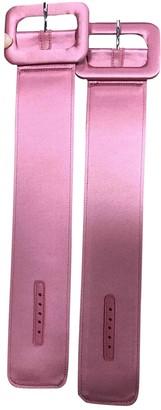 ATTICO Pink Cloth Bracelets
