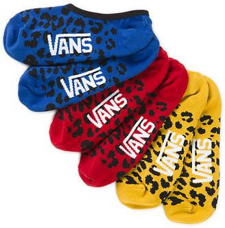 Vans Primary Leopard Canoodle Socks 3 Pack