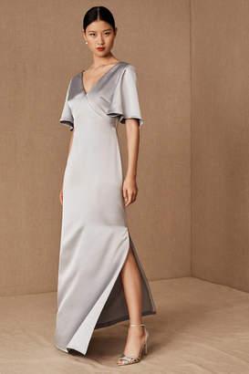 Anthropologie Monique Lhuillier Bridesmaids Caswell Wedding Guest Dress
