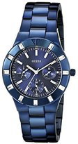 GUESS Women's U0027L3 Iconic Blue-Plated Stainless Steel Watch