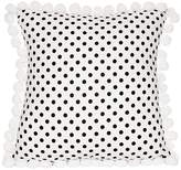 Lullaby Linen Cameo Pompom Cushion