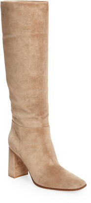 Gianvito Rossi Square Toe Pull-On Boot