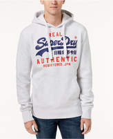 Superdry Men's Authentic Duo Logo-Print Hoodie