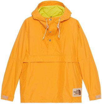 Gucci Online Exclusive The North Face x nylon wind jacket