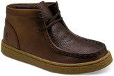 Hush Puppies Boys' or Little Boys' Bridgeport Leather Chukka Boots