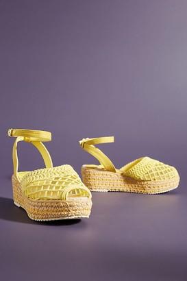 Miss L Fire Toulouse Mesh Espadrille Sandals
