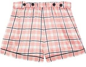 Morgan Lane Fiona Checked Satin Pajama Shorts