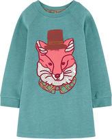 Oilily Fleece sweatshirt dress