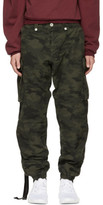 Unravel Green Camouflage Ripstop Cargo Pants