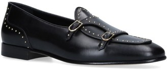 Brera Edhen Milano Leather Studded Loafers