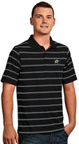 Antigua Men's Dallas Stars Deluxe Striped Desert Dry Xtra-Lite Performance Polo