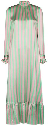 Helmstedt Striped Maxi Dress