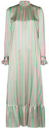 Helmstedt Striped Maxi Dress