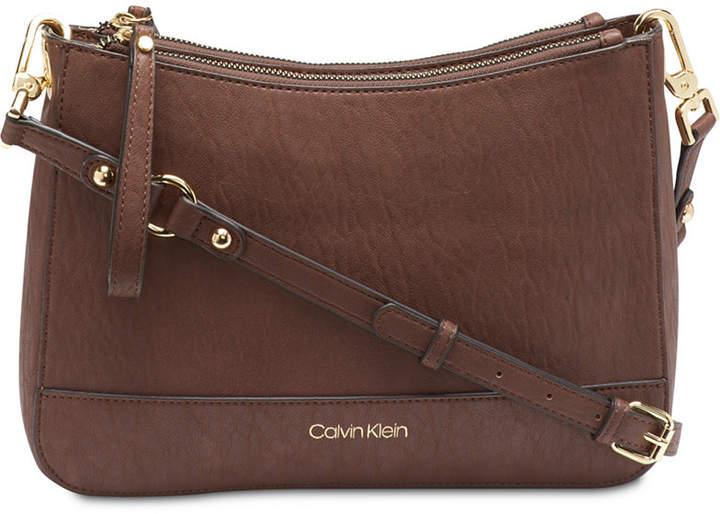 14e665882c Calvin Klein Brown Handbags - ShopStyle