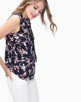 Splendid Flower Print Ruffle Top