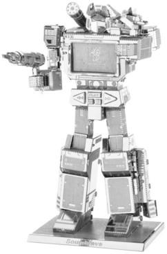 Fascinations Metal Earth 3D Metal Model Kit - Transformers Soundwave