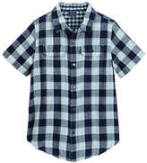 Tailor Vintage Reversible Gingham Buffalo Plaid Top (Little Boys & Big Boys)