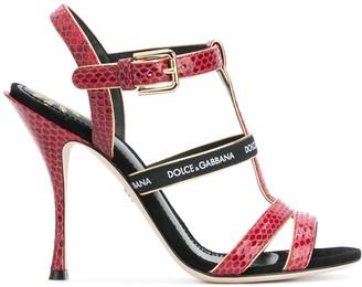 Dolce & Gabbana T-bar heeled sandals