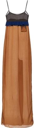 Prada empire line long dress