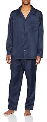 Seidensticker Men's Satin Pyjama Lang Sets,(Size: 052)