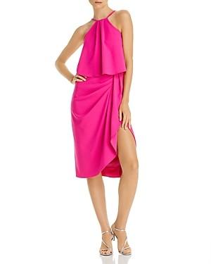 Aqua Popover Midi Dress - 100% Exclusive