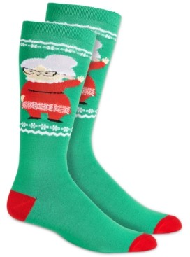 Charter Club Women's Mrs. Claus Knee-High Socks, Created for Macy's