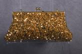 La Regale Satin Sequin Covered Evening Bag