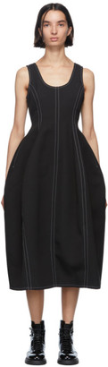 Enfold Black Hourglass Dress