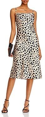 Aqua Cowl Neck Slip Dress - 100% Exclusive