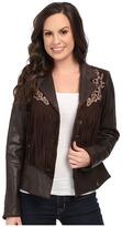 Scully Lore Exotic Fringe Jacket