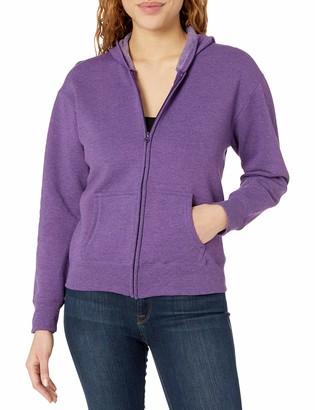 Hanes Womens EcoSmart Full-Zip Hoodie Sweatshirt Fleece Jacket