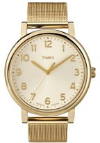 Timex 'Easy Reader' Mesh Bracelet Watch, 38mm